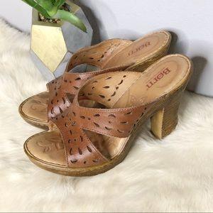 Born Slip On Heel Sandal